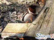 Żelazny Tygiel Waloński wypalanie ganków