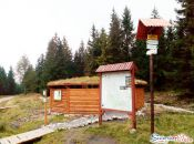 Drewniany szałas Jakuszyce