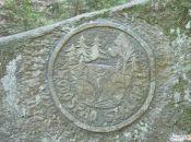 kamienna tablica Wodospad Szklarki