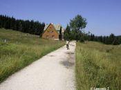 droga z Orle do Chatki Górzystów