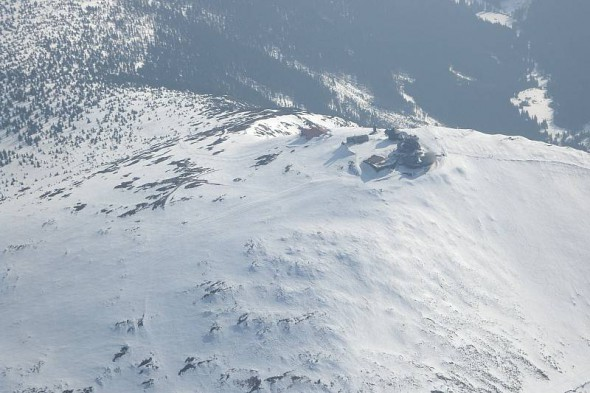 Lot szybowcem na Śnieżką