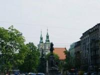 Plac Jana Matejki i Pomnik Grunwaldzki, Kościół św. Floriana