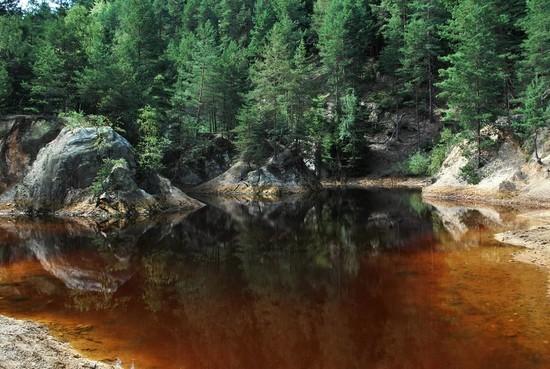 Jezioro Purpurowe - 25 km od Barcinka