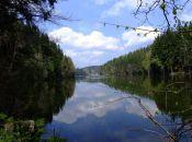 Jezioro Wrzesczyńskie - 500 metrów od Barcinka