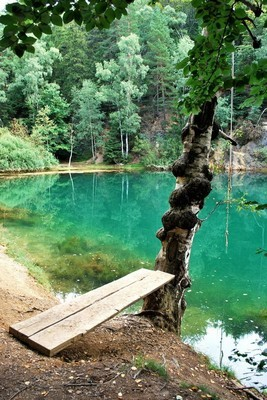 Jezioro Szmaragdowe - 25 km od Barcinka