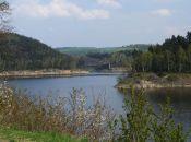Jezioro Pilchowickie - niedaleko Barcinka