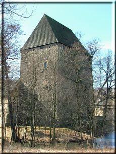 Wieża rycerska w Siedlęcinie- niedaleko Barcinka