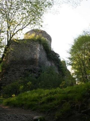 Zamek we Wleniu - 17 km od Barcinka