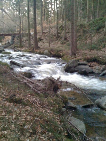 Okolice wodospadu podgórnej