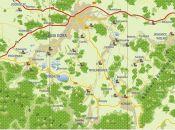 Mapa Kotliny Jeleniogórskiej