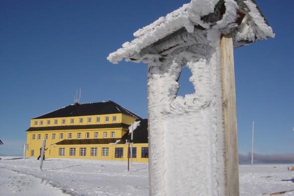 Przedsmak niezwykłych,.śnieżnych malowideł