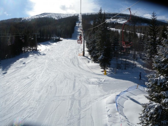 Liczykrupa trasa narciarska