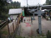 Dolna stacja wyciagu krzesełkowego na Kopę