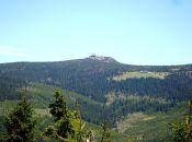 Widok na Szrenicę od czeskiej strony