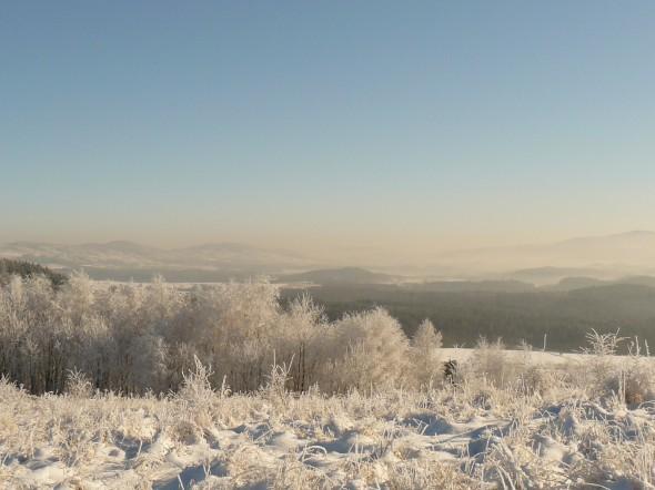 zimowa Góra Szybowcowa w Jeżowie Sudeckim