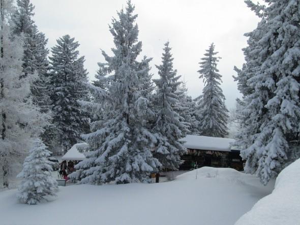 Karpacz zimową porą