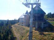 Kolej gondolowa - górna stacja