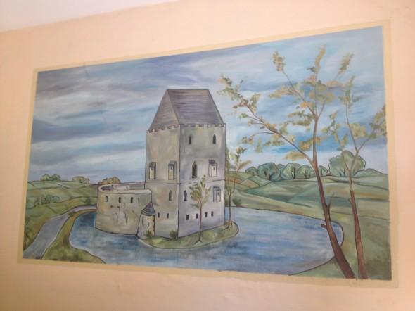 Wygląd pierwotny wieży w rys. T. Nodzyńskiego