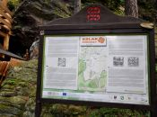 Szlak Górniczy Tablica informacyjna
