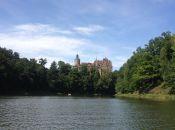 Zamek Czocha - widok z jeziora