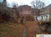 dziedziniec Zamek Bolczów