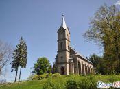 Kościół pw. Bożego Ciała - widok z parkingu