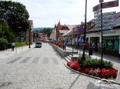 Deptak na ulicy Zdrojowej